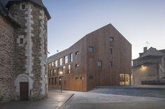 Village Center of Ecouflant / Studio d'Architecture Bruno Huet © Patrick Miara Manufacturers #Smac