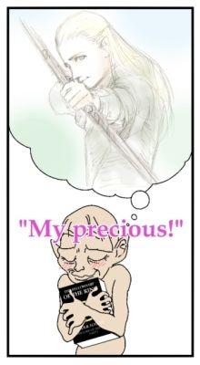 My precious!  I love Legolas!!