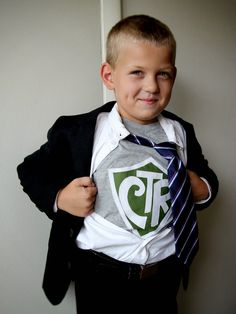 LDS baptism, 8 is Great, Choose the Right, Real Super Hero