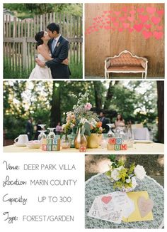Northern California wedding venues: Deer Park Villa | I Do Venues shot by @delbarr moradi