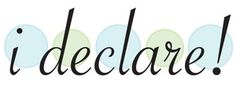 Blog Link Party With i declare!