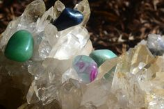 Cleansing your crystals is very important. They absorb energy from their surroundings and from anything that touches them. Follow these 3 simple steps to cleanse your crystals. Click here for more info: http://energymuse.com/blog/cleansing-crystals/