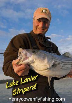 Henry Cowen - Fly fishing for Lake Lanier Stripers