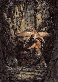 Paul Bonner - minotaur
