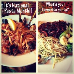 #National Pasta Month #October