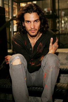 Santiago Cabrera as Isaac Mendez from Heroes; I don't really know who this is I just think he's hott.