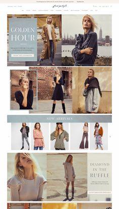 Website Design Inspiration, Fashion Website Design, Beautiful Website Design, Company Profile Design, Email Marketing Design, Ecommerce Website Design, Web Design, Design Layouts, Graphic Design Posters