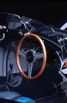 Interior of the 1952 Fitch-Whitmore Le Mans Special