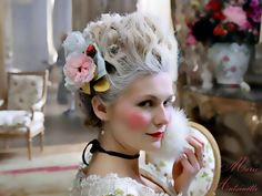 French Queen Marie Antoinette | ... the 2006 [I think...] movie with Kristen Dunst as the French Queen.