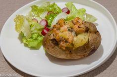 Photo de recette de pomme de terre au four  de Kilomètre-0, blog de cuisine…