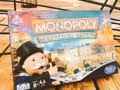 """Aviva KlompasVerified account @AvivaKlompas     Just received this awesome #Jerusalem Monopoly set. Hoping the """"Go"""" square is called """"Yalla."""""""