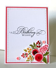 Marybeth's time for paper: Birthday Blog Hop for Kara