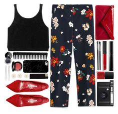 """#813 Fleur"" by blueberrylexie ❤ liked on Polyvore featuring NARS Cosmetics, Zara, Lomography, Manolo Blahnik, Surratt, Illamasqua, GHD, Cara, Monsoon and L.K.Bennett"