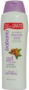 Babaria Shower Gel with Sweet Almond Oil for Very Dry Skin, 750ml / 25.5 Oz by BABARIA. $9.75