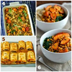 21 Quick Vegan Meals for Midweek Dinners - Mix with meat if need a bigger protein hit (Tinned Tomatoes website)
