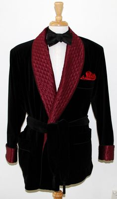 Le Noeud Papillon Of Sydney - For Lovers Of Bow Ties: Traditional Smoking Jacket