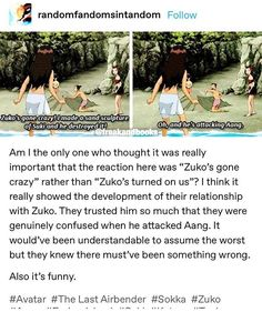 Shared by Zara Cen. Find images and videos about avatar, zuko and avatar the last airbender on We Heart It - the app to get lost in what you love. Avatar The Last Airbender Funny, The Last Avatar, Avatar Funny, Avatar Airbender, Avatar Aang, Aang Funny, Legend Of Korra, Homestuck, Dislike