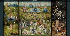 """Hieronymus Flash - Als Begleitmaterial des Dokumentarfilms """"Hieronymus Bosch, Touched by the Devil"""" entstand eine interaktive Onlineplattform, auf der der """"Garten der Lüste"""" bis ins kleinste Detail aufgelöst und erklärt wird. Der Betrachter kann am Bildschirm in die Symbolsprache des Künstlers eintauchen, er lernt etwas über die Entstehungsbedingungen und Boschs Weltsicht. Kein Museum der Welt könnte diese Nähe zum Werk ermöglichen."""
