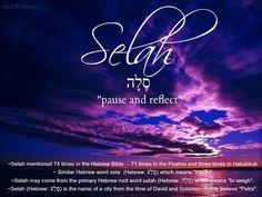 Pause, reflect, praise