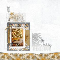 Holiday Tradition - Digital Scrapbooking Ideas - DesignerDigitals -- #designerdigitals #scrapbooking #holiday #tradition #Christmas