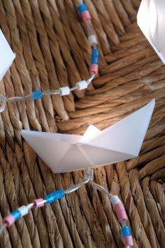 Schiffchen-Lichterkette - Handmade Kultur