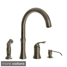 Sir Faucet 4-hole Widespread Kitchen Faucet
