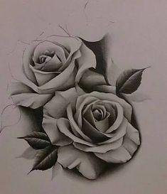 Resultado de imagem para roses tattoos
