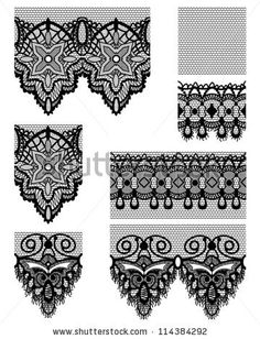 lace patterns gothic - Google Search