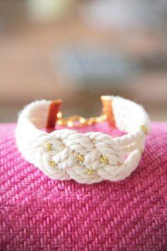 Un bracelet nœud marin + des tutos pour plein de noeuds