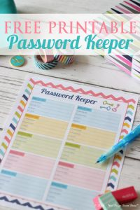 Organize Your Online Accounts with a Password Keeper – Week 14