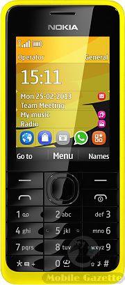 Nokia 301 - classic Nokia with 3.5G data.