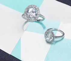 Add a splash of sparkle to her world with a ring from Imagine Bridal