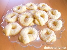 Christmas And New Year, Christmas Holidays, Xmas, Norwegian Food, Doughnut, Cookies, Baking, Dinner, Sweet