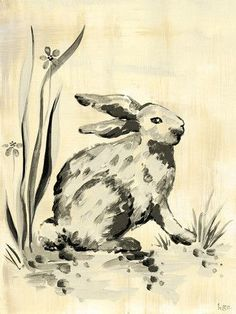 Toile Bunny Canvas Art