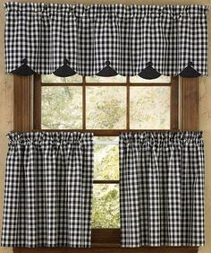 55 Ideas For Kitchen Farmhouse Curtains Kitchen Window Blinds, Blinds For Windows, Kitchen Curtains, Cafe Curtains, Drapes Curtains, Rideaux Country, Cortinas Country, Blinds Inspiration, Country Style Curtains