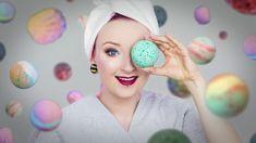 DIY: Magiczne KULE DO KĄPIELI! ♡ Red Lipstick Monster ♡
