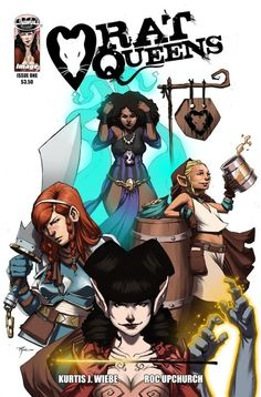 A review of the first issue of Rat Queens.