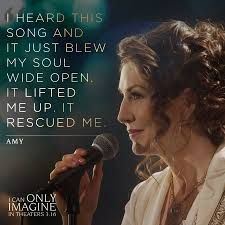 Amy Grant I Can Only Imagine Christian Movies Quotes