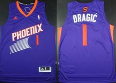 Phoenix Suns #1 Goran Dragic Revolution 30 Swingman Purple Jersey