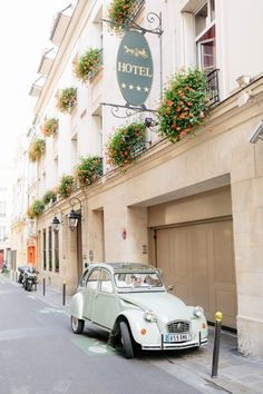 Photography: French Grey Photography | Car Hire: Paris Authentic #car #carrental #transport #weddingtransport