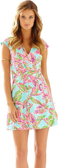 Briella Fit & Flare Cap Sleeve Dress