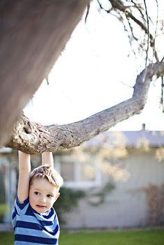 Boy in a tree by darbyelizabeth on 500px