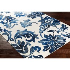 Artistic Weavers Organic Chloe Royal Blue 5 ft. x 8 ft. Indoor Area Rug - AWOG2304-58 - The Home Depot