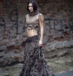Kolekce oděvů vyrobená technikou mokrého plstění. Autorky - Diana Nagornaja a Julie Svyndja. facebook.com/pages/Diana-Nagorna/17215859616...