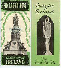 Ireland Exhibit Brochures from 1939 New York World's Fair. by GenerationsAgo on Etsy