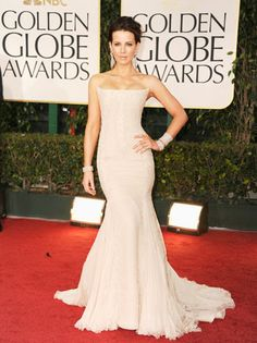 Kate Beckinsale in Roberto Cavalli...my favorite dress at this years golden globes