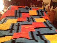 For my Son's 41st Birthday.  BQ 2.  pattern by Maple Island Quilts.