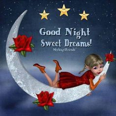 Good night sister and all, sweet dreams,♥★♥. Good Night Sister, Good Night Beautiful, Good Night I Love You, Good Night Sweet Dreams, Good Night Moon, Good Night Image, Good Night Quotes, Good Morning Good Night, Day For Night