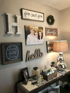 48 Easy Diy Farmhouse Living Room Wall Decor Ideas – Page 6 of 48 – Decorating Ideas – Home Decor Ideas and Tips Decoration Entree, Farmhouse Wall Decor, Rustic Decor, Rustic Style, Rustic Signs, Farmhouse Style, Farmhouse Ideas, Fresh Farmhouse, Entryway Wall Decor