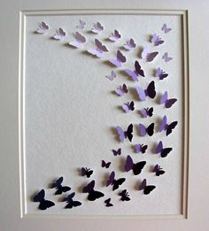 DIY: butterfly picture